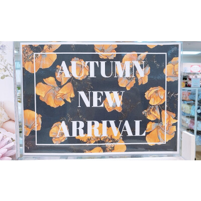 AUTUMN🍁NEW ARRIVAL