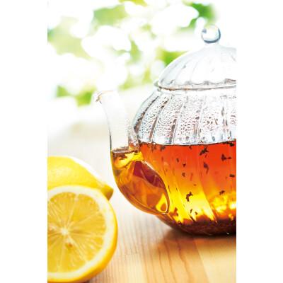 旬のニルギリ紅茶で春のレモンティー